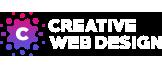 creative web design logo footer